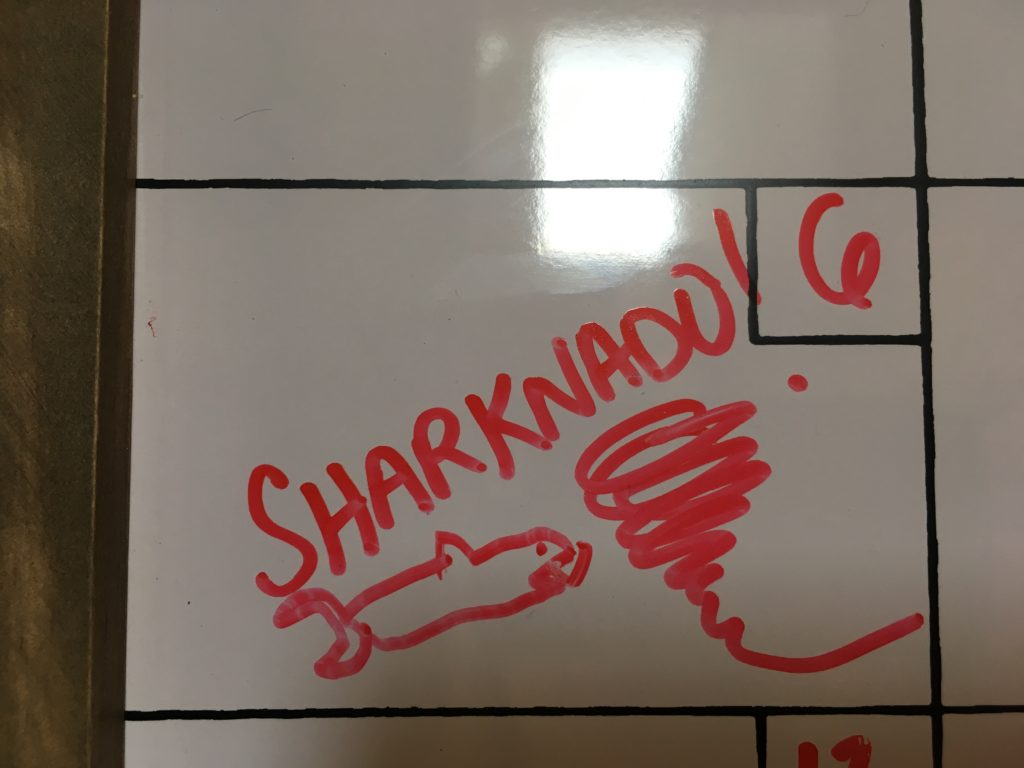 Sharknado 5 obsession with Sharknado