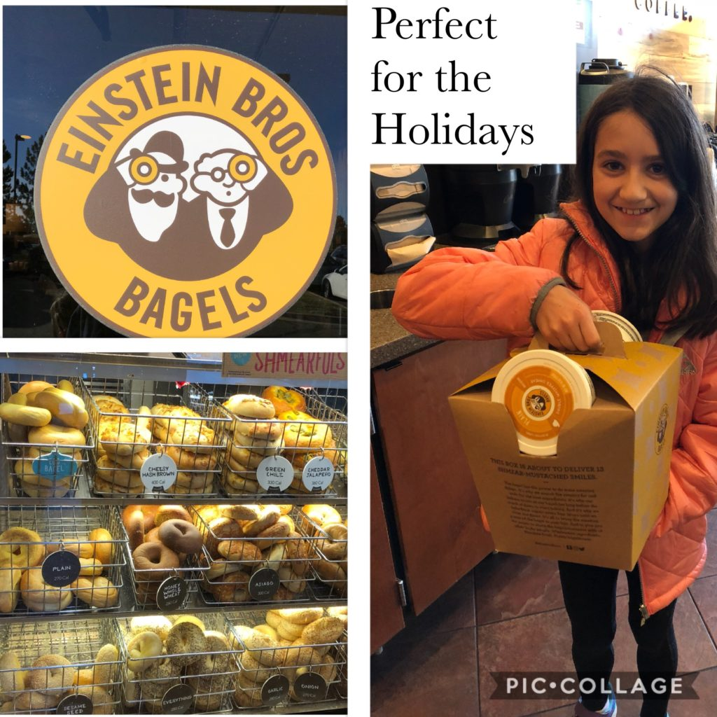 Einstein Bros. Bagels holiday traditions