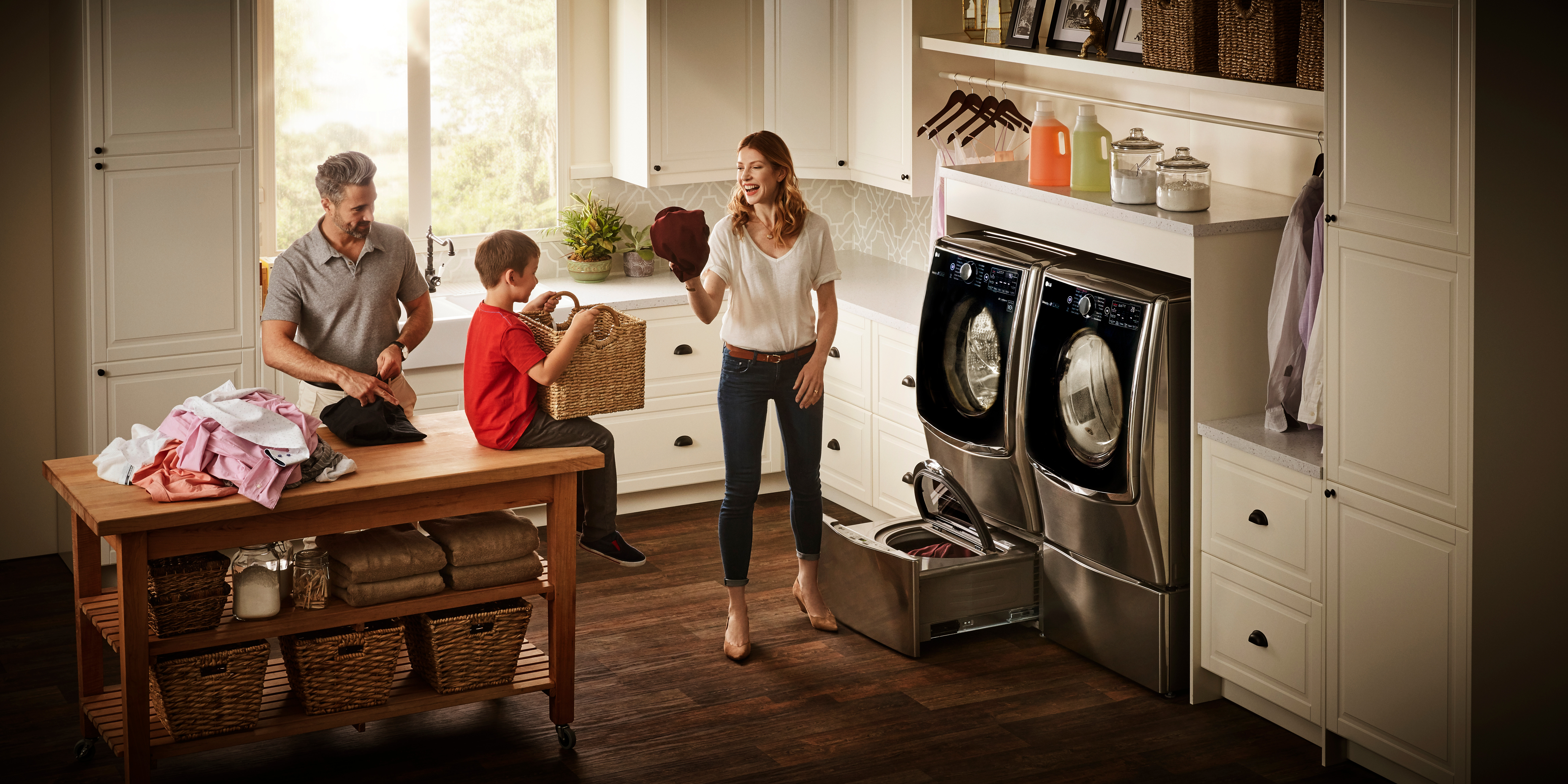 Too Much Laundry?  Check out the LG Twin Wash System